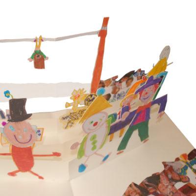 pop-up scolaires livre cirque