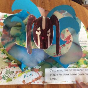 livre pop-up chien et chat, pop-up scolaires