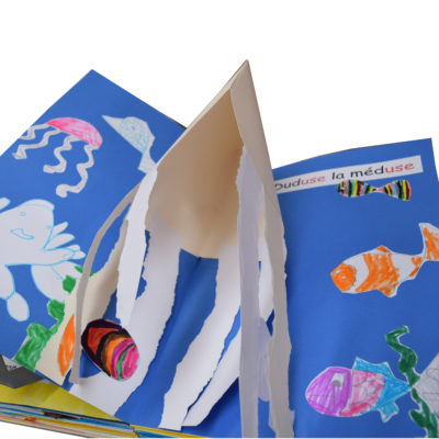 pop-up scolaires livre sons de la mer