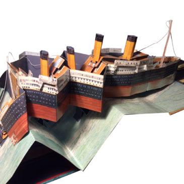 Pop-up Titanic