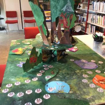 plateau de jeu, Bibliothèque Dinéault